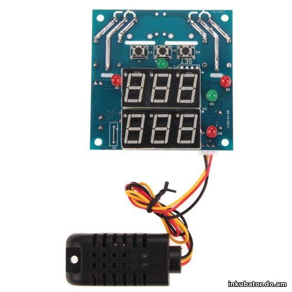 Терморегулятор + регулятор влажности